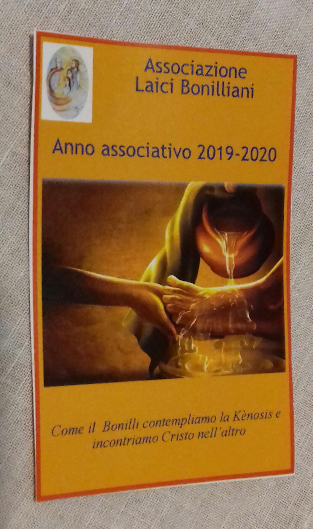 Rinnovo del tesseramento nelle comunità dell'Associazione Laici Bonilliani