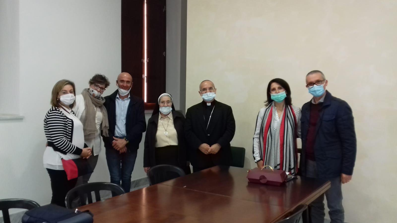 L'A.L.Bo. incontra il Vescovo di Piazza Armerina