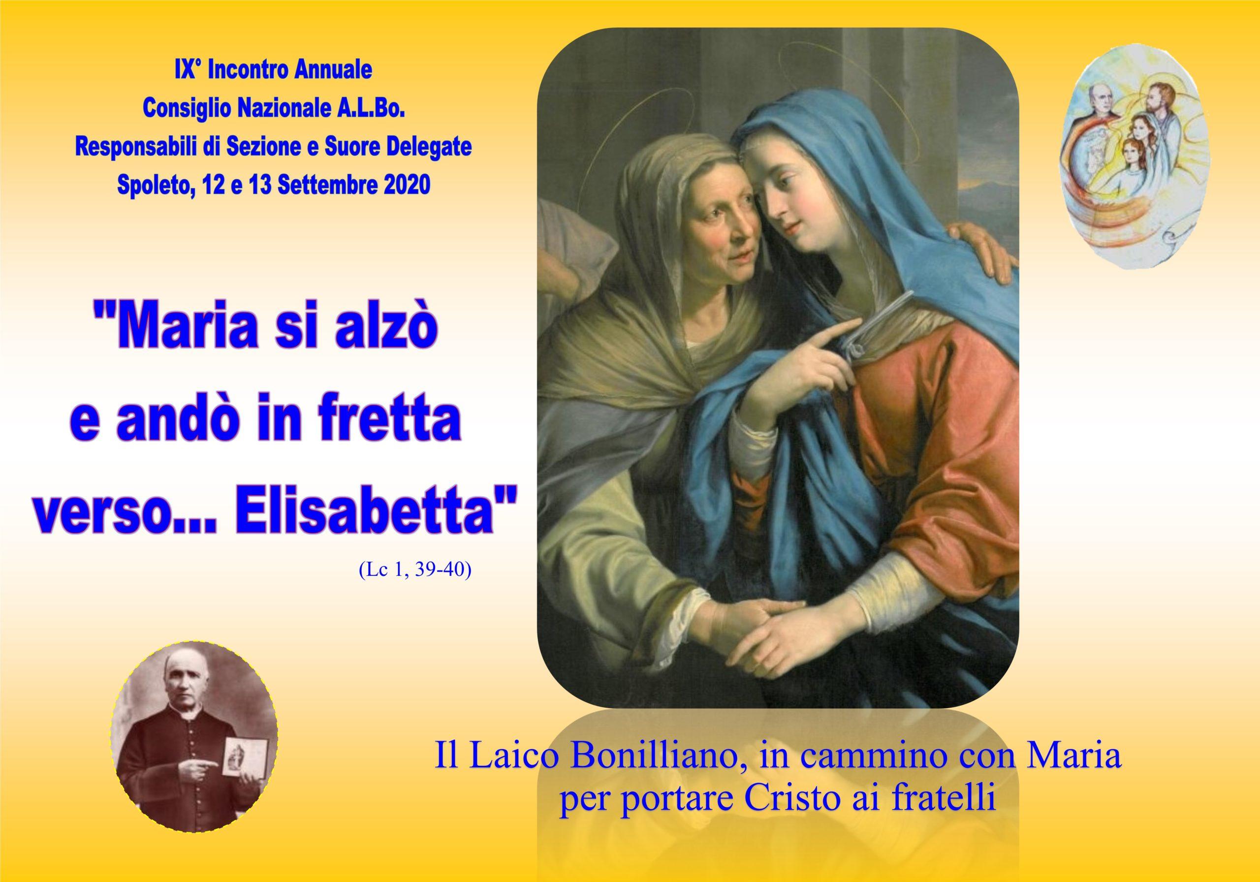 Il Laico Bonilliano in cammino con Maria per portare Cristo ai fratelli