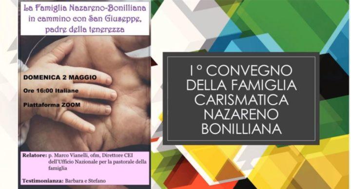 """Convegno """"La Famiglia Nazareno Bonilliana in cammino con San Giuseppe Padre della Tenerezza"""""""